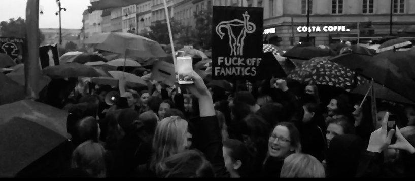 Czarny Protest kadr