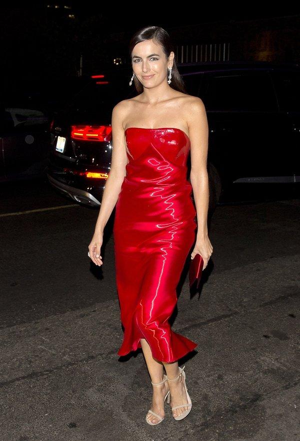 Czerwona sukienka Walentynki2018