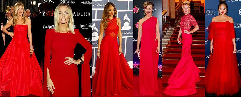 Czerwone sukienki na Walentynki 2018