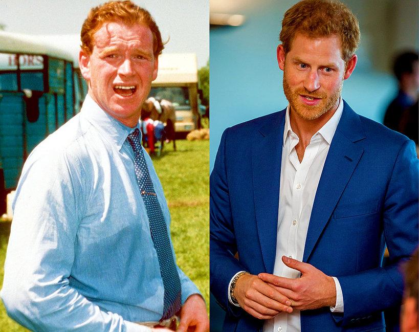 Czy kapitan James Hewitt jest ojcem księcia Harry'ego? Książę Karol nie jest ojcem syna Diany?