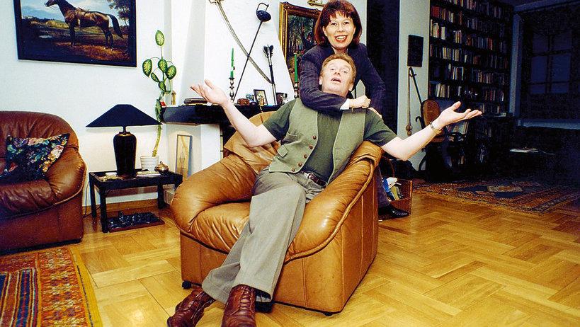 Daniel Olbrychski zdradzał Zuzannę Łapicką-Olbrychską z Anouk Aimée