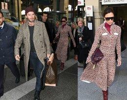 David i Victoria Beckhamowie w Paryżu