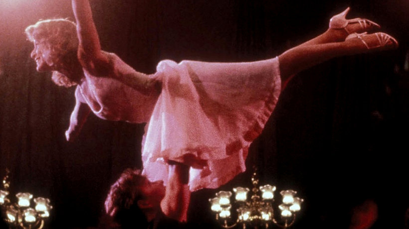Dirty Dancing, Jennifer Grey w sukience z filmu