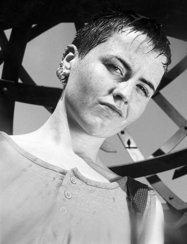 Dolores O'Riordan, wokalistka The Cranberries, Nowy Jork, czerwiec 1995 roku