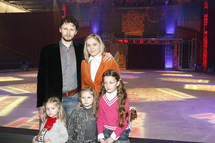 Dominika Figurska, Dominika Chorosińska, Michał Chorosiński, dzieci Dominiki Chorosińskiej, Warszawa, 07.05.2009 rok