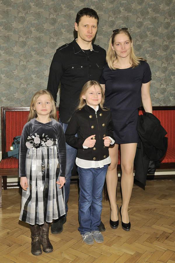 Dominika Figurska, Dominika Chorosińska, Michał Chorosiński, dzieci Dominiki Chorosińskiej, Warszawa, 18.03.2012 rok