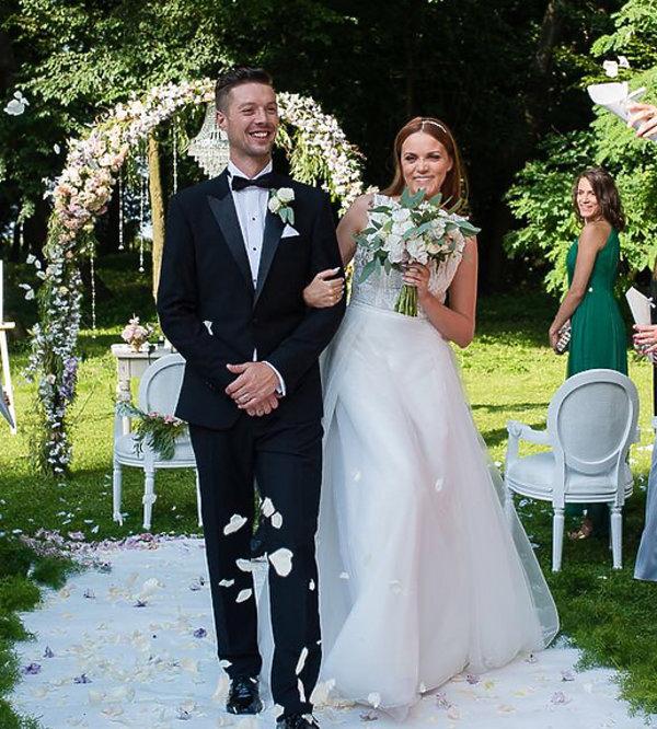 monika jarosińska ślub