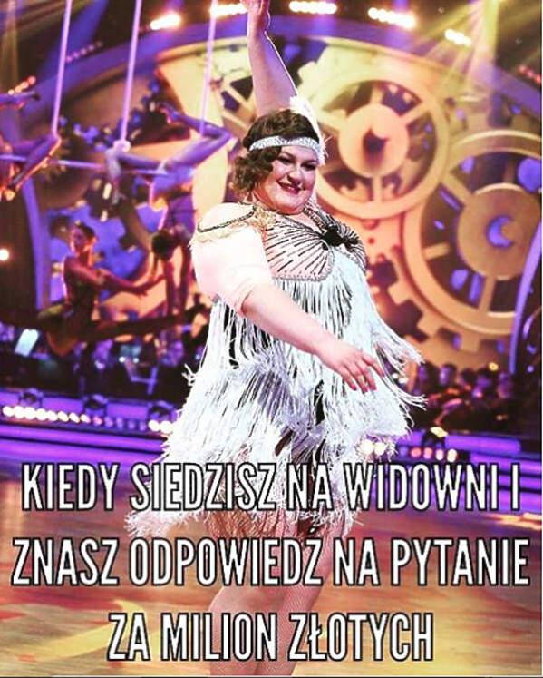 Memy Z Dominiką Gwit Aktorka Wyśmiewa Udział W Tańcu Z Gwiazdami