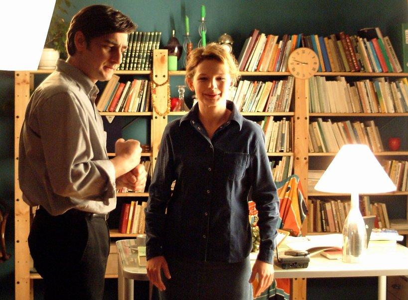Dominika Ostałowska i Robert Gonera w M jak miłość, 2003 rok