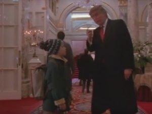 Donald Trump i Macaulay Culkin