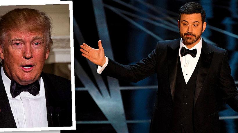 Donald Trump, Jimmy Kimmel, Oscary 2017, Oscary