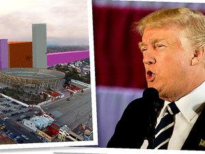 Donald Trump, Meksyk, budowa muru Trumpa na granicy z Meksykiem