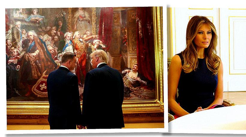 Donald Trump, Melania Trump, Andrzej Duda, Agata Duda