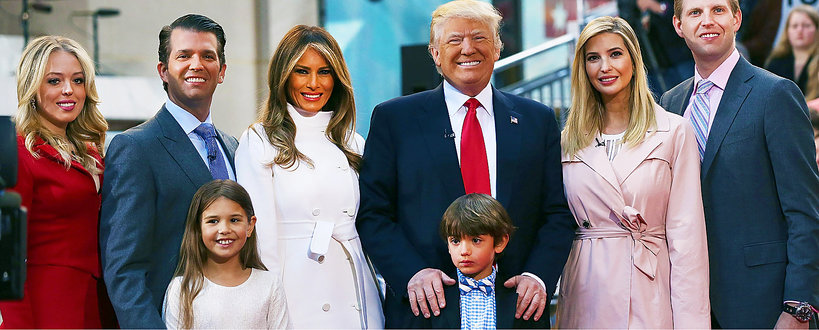 Donald Trump zostanie dziadkiem, wnuki Donalda Trumpa, rodzina Donalda Trumpa