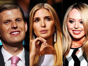 Dzieci Donalda Trumpa: Donald Jr., Eric, Ivanka, Tiffany i Barron