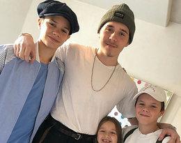 Dzieci Victorii Beckham, dzieci Davida Beckhama