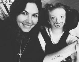 Dziewczynka, której twarz została użyta w kampanii aborcyjnej. Sophia, córka Natalie Weaver