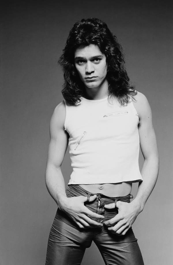 Eddie Van Halen, Los Angeles, 1978