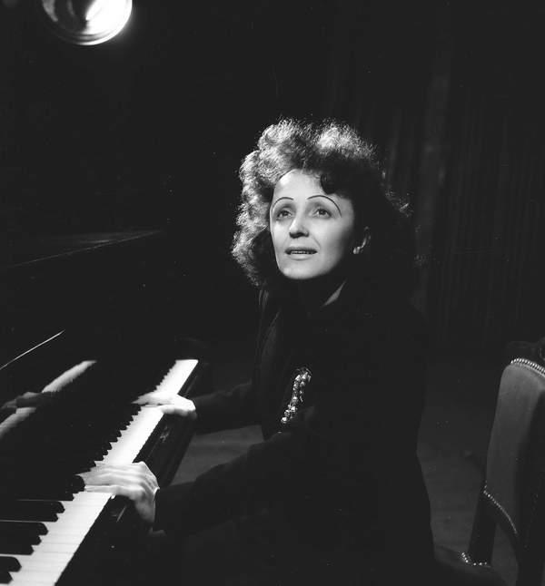 Edith Piaf, rok nieznany, na pewno po 1945 roku