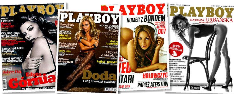 Edyta Górniak, Doda, Aleksandra Szwed, Natasza Urbańska, Playboy