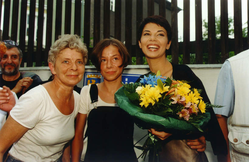 Edyta Górniak, Grażyna Jasik, przyrodnia siostra Edyty Górniak, Opole 1998 rok