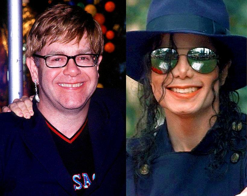 Elton John, Michael Jackson