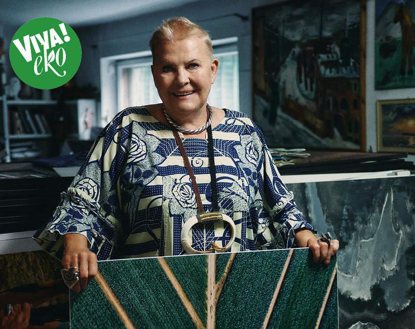 Elżbieta Dzikowska, VIVA! październik 2020, 19/2020