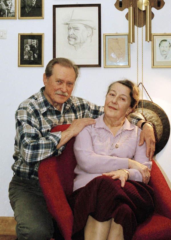 Emil Karewicz, żona, 02.02.2006