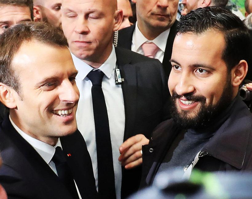 Emmanuel Macron ma kochanka?! Kim jest Benalla?