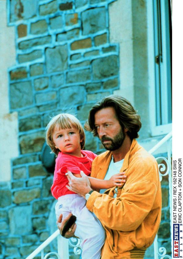 Eric Clapton, syn Connor Clapton, koniec lat 80.