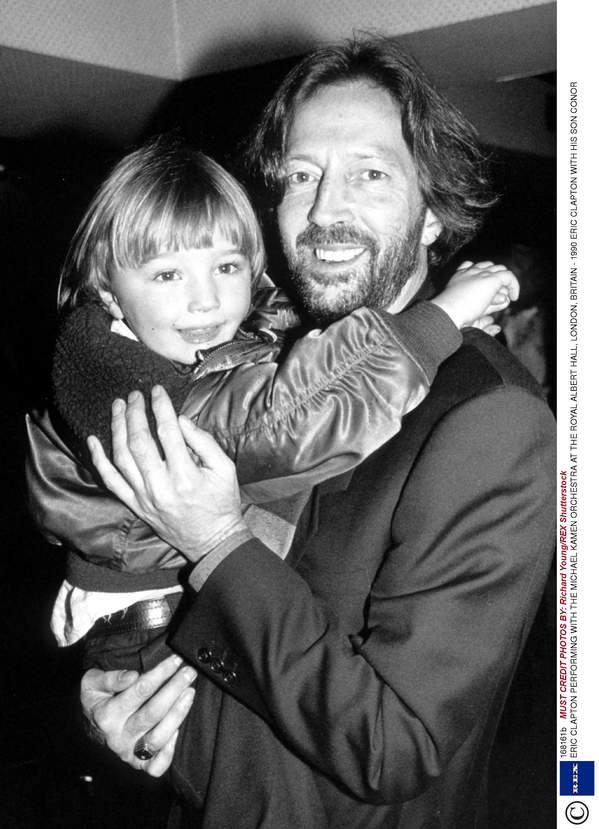 Eric Clapton, syn Connor Clapton, Londyn, 15.06.1990