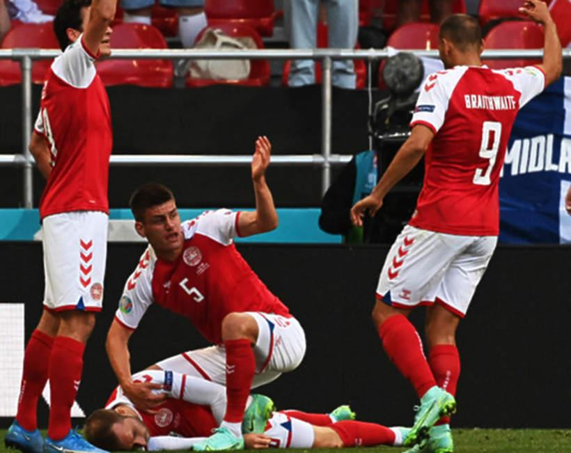 Euro 2020: mecz Dania-Finlandia. Christian Eriksen zemdlał w trakcie spotkania
