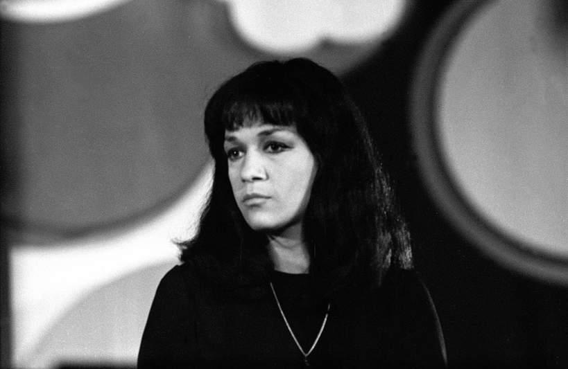 Ewa Demarczyk, festiwal w Sopocie, sierpień 1970