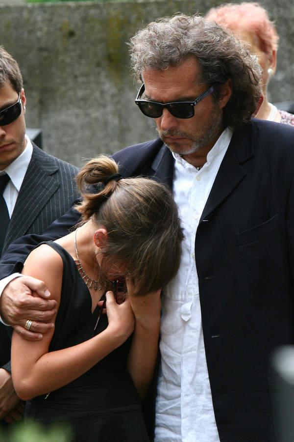 Ewa Sałacka, pogrzeb Ewy Sałackiej, Witold Kirstein, Matylda Kirstein, 01.08.2006