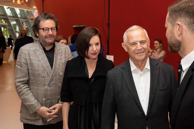Festiwal Muzyki Filmowej w Krakowie, Kraków, 16.05.2019 rok, Marek Kondrat, Antonina Turnau, Grzegorz Turnau