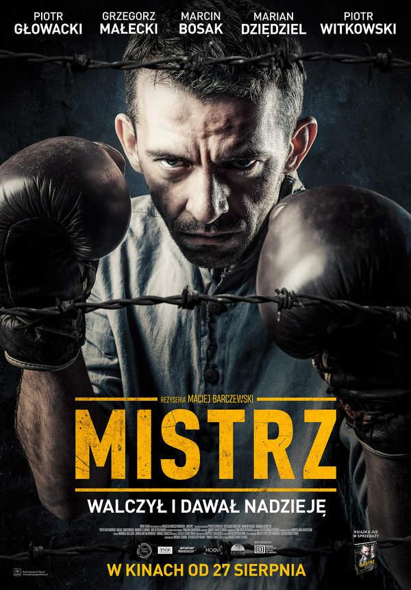 Film Mistrz, plakat, Piotr Głowacki