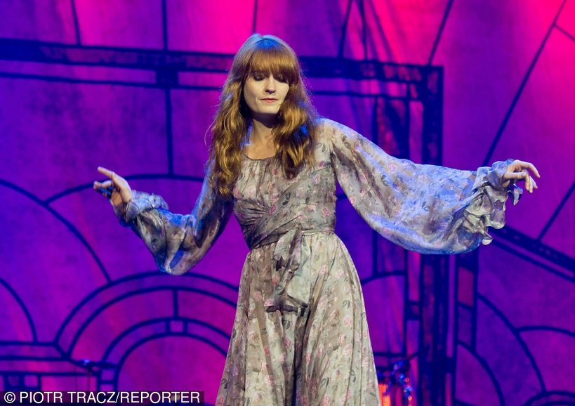 Florence and the Machine, Warszawa Orange Warsaw Festival 14.06.2014