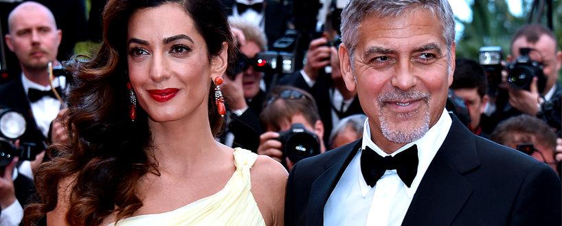 George Clooney, Amal Clooney, Amal Clooney w ciąży