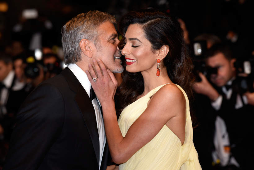 George Clooney, Amal Clooney, Cannes, Francja, 12.05.2016 rok