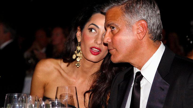 George Clooney, Amal Clooney, dzieci George'a Clooneya