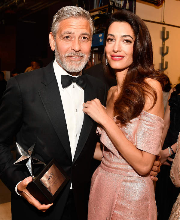 George Clooney, Amal Clooney, Hollywood, Kalifornia, 07.06.2018 rok