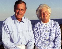 Rozdzieliła ich dopiero śmierć... Historia miłości Barbary i George'a Bushów wzrusza do łez