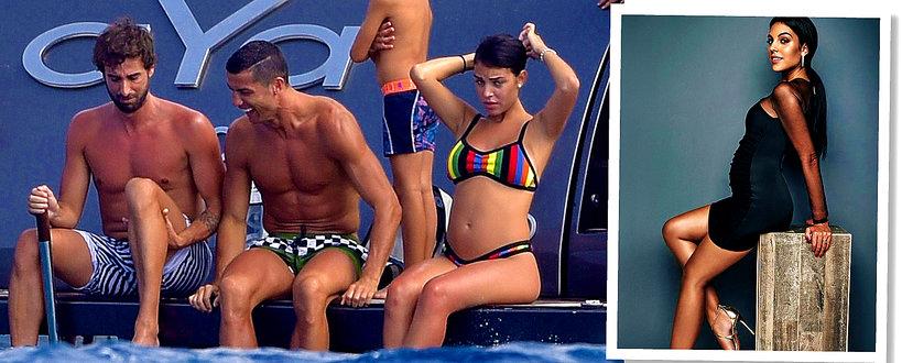 Georgina Rodriguez, dziewczyna Cristiano Ronaldo o dziecku, ciąży i związku z piłkarzem