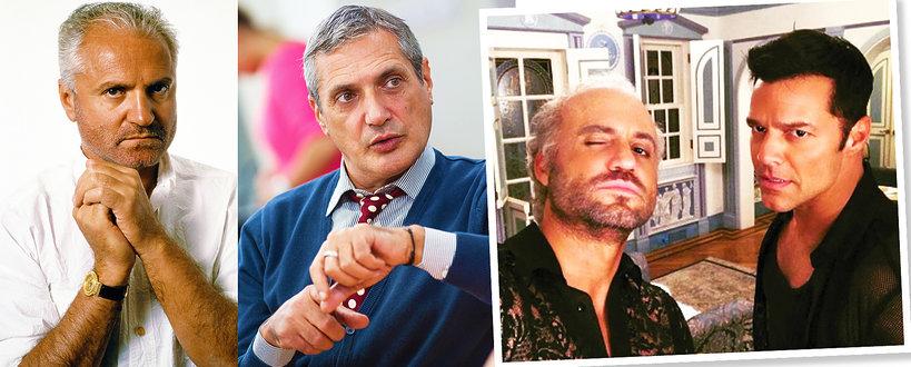 Gianni Versace, Antonio D'Amico, film o Versace, Ricky Martin