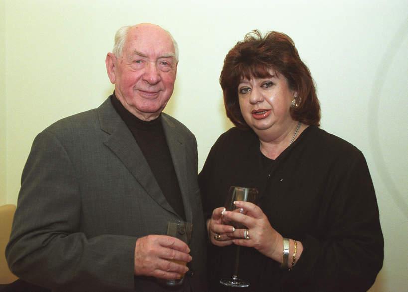 Gołda Tencer, Szymon Szurmiej, Opłatek Filmowców, Va Banque, 18.12.2000 rok