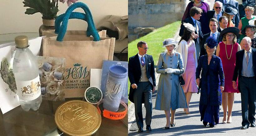 Goście sprzedają prezenty ze ślubu księcia Harry'ego i Meghan Markle