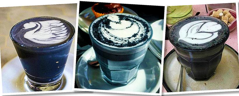Goth latte, Najczarniejsza kawa, hit Instagrama
