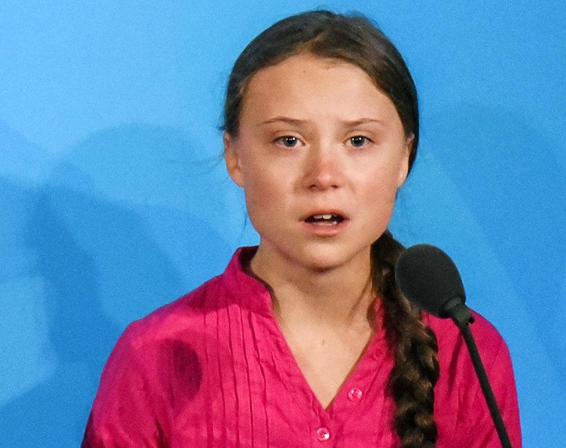 Greta Rhunberg na szczycie klimatycznym ONZ w Nowym Jorku