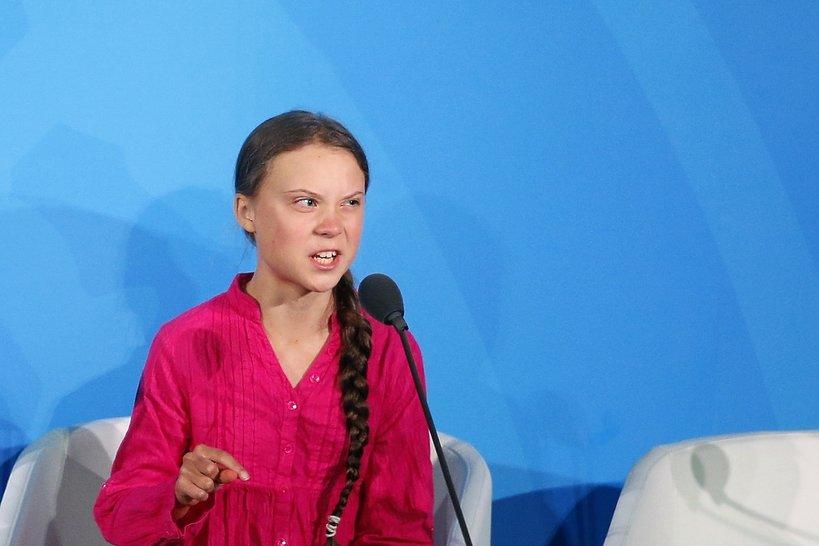 Greta Thunberg, Nowy Jork, szczyt klimatyczny