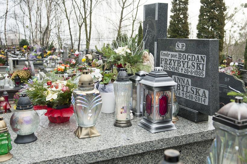Grób Ani Przybylskiej, Anna Przybylska, Ania Przybylska